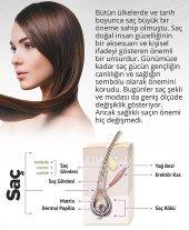 Brillant Hair Keratinli Bitkisel Saç Uzatma Bakım Serumu - Keratinli Bitkisel İpek Proteinli Ozonlanmış Argan Yağlı Şampuan - 3 Aylık Set  + 1 Adet Titanyum Derma Roller 540 İğne 0,5 mm 1. Kalite Masaj Aleti RoHs CE belgeli  -7