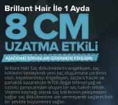 Brillant Hair Keratinli Bitkisel Saç Uzatma Bakım Serumu - Keratinli Bitkisel İpek Proteinli Ozonlanmış Argan Yağlı Şampuan - 3 Aylık Set  + 1 Adet Titanyum Derma Roller 540 İğne 0,5 mm 1. Kalite Masaj Aleti RoHs CE belgeli  -8