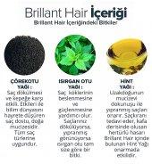Brillant Hair Keratinli Bitkisel Saç Uzatma Bakım Serumu - Keratinli Bitkisel İpek Proteinli Ozonlanmış Argan Yağlı Şampuan - 3 Aylık Set  + 1 Adet Titanyum Derma Roller 540 İğne 0,5 mm 1. Kalite Masaj Aleti RoHs CE belgeli  -10