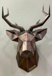 Metal Geyik Kafası-3