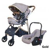 Baby Care Bc30 Titan Trio Puset Travel Bebek Arabası