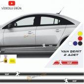Erzline Peugeot 106 Yan Şerit Oto Sticker Sağ Sol