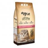 Mycat 10 L Bentonit Kedi Kumu, Pudra Kokulu, Kalın Tane