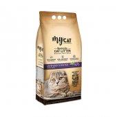 Mycat 5 L Bentonit Kedi Kumu, Lavanta Kokulu, İnce Tane