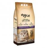 Mycat 10 L Bentonit Kedi Kumu, Lavanta Kokulu, İnce Tane