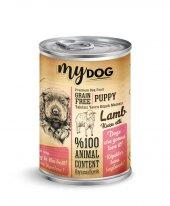 Mydog Tahılsız Kuzu Etli Yavru Köpek Konservesi, 415 Gr