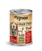 Mydog Tahılsız Sığır Etli Köpek Konservesi, 415 Gr