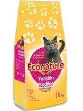 Econature Tavuklu Yetişkin Kedi Maması, 15 Kg