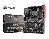 MSI B450 TOMAHAWK MAX AM4 DDR4 3466(OC) DVI HDMI M.2 USB3.2 RGB A