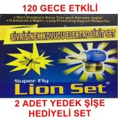 Lıon Sivrisinek Kovucu Elektro Likit Set 2 Şişe Li...