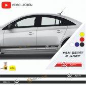Erzline Citroen Xsara Yan Şerit Oto Sticker Sağ Sol