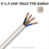 4x1,5 Ttr Çok Telli Kablo 1 Sınıf Ve 1. Kalite (100 Metre Satışımız) (((Kargo Bedava)))