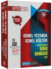 Pegem Yayınları 2020 Kpss Genel Yetenek Genel Kültür Tamamı Çözümlü Soru Bankası Seti 5 Kitap
