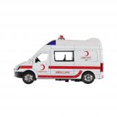 Birlik Işıklı Metal Çek Bırak Ambulans Fy5058a 12d
