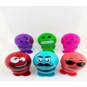 çılgın Kafalar Emojili Renkli Ofis Araba...