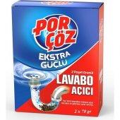 Porçöz Granül Lavabo Açıcı 70 Gr X 2 Adet