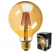 Aeron 8w 800 Lümen Rustik, Dekoratif Led Ampül Sarı Işık