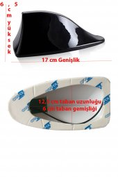 CITROEN C1 UYUMLU BEYAZ SHARK ANTEN KÖPEK BALIĞI-2
