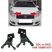 Fiat Linea Sol Ve Sağ Far Tamir Kiti Plastiği Ayağı 51785219