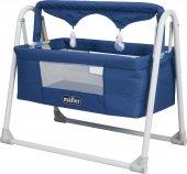 Maller Baby Ml4026 03 Deco Beşik Mavi
