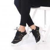 Rubus Kadın Spor Ayakkabı Siyah, Beyaz