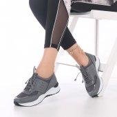 Maris Kadın Spor Ayakkabı Kırmızı, Beyaz, Pembe, Gri