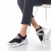 Kelsey Kadın Spor Ayakkabı - Siyah, Gri-3