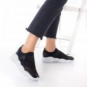 Kelsey Kadın Spor Ayakkabı - Siyah, Gri-4
