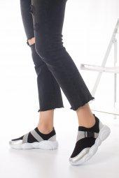 Kelsey Kadın Spor Ayakkabı - Siyah, Gri-10