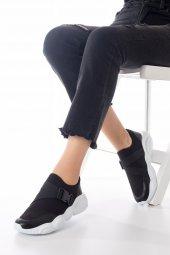 Kelsey Kadın Spor Ayakkabı - Siyah, Gri-11
