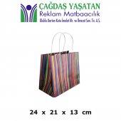 Küçük Boy Kağıt Çanta  ( 100 Adet ) - 061