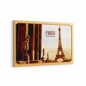 Tabrika Paris Posta Kartı Kanvas Tablo
