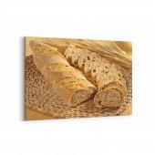 Tabrika Ekmek Dilimleri Kanvas Tablo