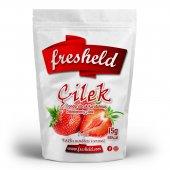 Fresheld Dondurularak Kurutulmuş Dilimlenmiş Çilek15gr