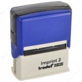 Trodat Imprint 2 Kaşe 47 Mm X 18 Mm Mavi