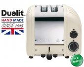 Dualit 2 Hazneli Classic 27045 Kanvas El Yapımı Ekmek Kızartma Makinesi