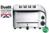 Dualit 4 Hazneli Classic 47030 El Yapımı Ekmek Kızartma Makinesi