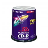 Fujiflm Cd R 52x 700mb 100' Lü Cake Box