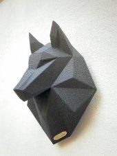 Metal Kurt Kafası-3