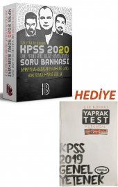 Benim Hocam Yayınları 2020 KPSS Tek Kitap GY-GK Tamamı Çözümlü Soru Bankası+HEDİYE-Türkçe Yaprak Test