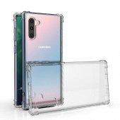Samsung Note 10 Zore Anti Shock Kılıf Şeffaf