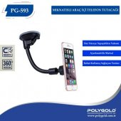 Polygold Pg 593 Manyetik 360 Araç Telefon Tutucu