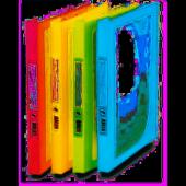 Comıx A6965 Şeffaf Çerçeveli Yaylı Dosya