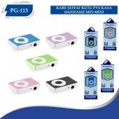 Polygold Pg 113 Renkli Mini Mp3 Çalar