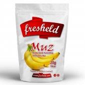 Fresheld Dondurularak Kurutulmuş Dilimlenmiş Muz 20gr