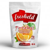 Fresheld Dondurularak Kurutulmuş Dilimlenmiş Portakal 15g