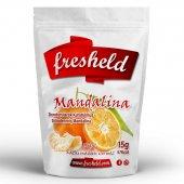 Fresheld Dondurularak Kurutulmuş Dilimlenmiş Mandalina 15g