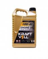 Kraftvoll Motor Yağı Benzin Dizel 10w40 Yarı Sentetik Sl Cf 4 Lt.