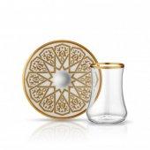 Koleksiyon Dervish Çay Seti 6lı Selçuklu Altın