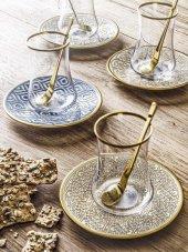 Koleksiyon Dervish Çay Seti 6lı Selçuklu Altın-2